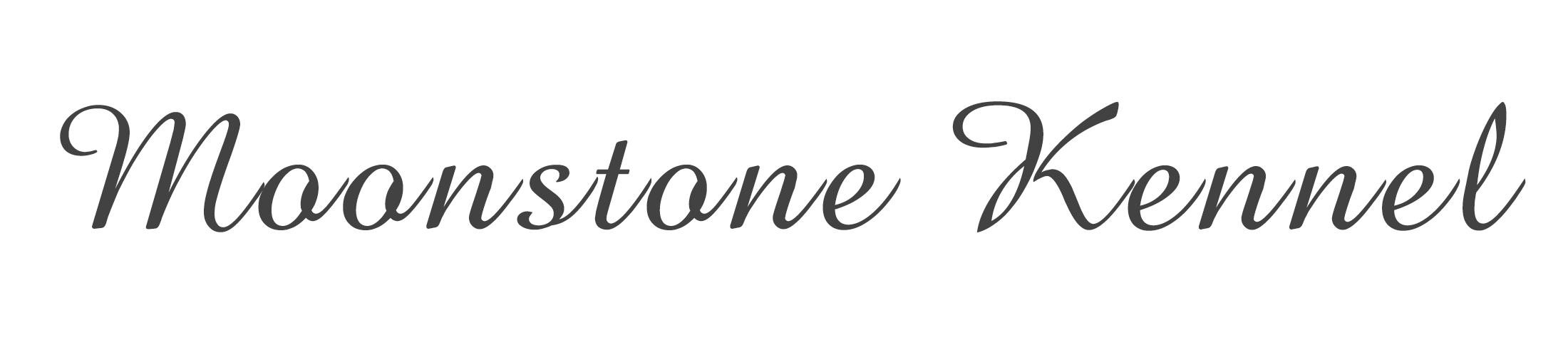 Moonstone Kennel Logo